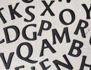 ブラスレター アルファベット S 大文字